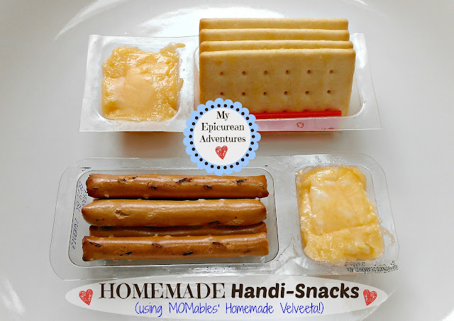 Homemade Handi-Snacks using MOMveeta