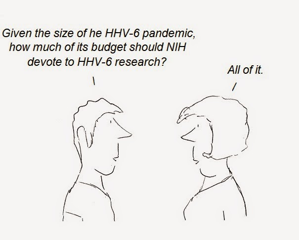 cfs, hhv-6, nih, fauci, cover-up, julian lake, aids, autism, ms, cartoon, hhv-6 cartoon