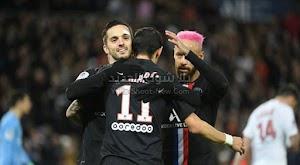 باريس سان جيرمان يحقق انتصار ساحق على فريق مونبلييه في الدوري الفرنسي