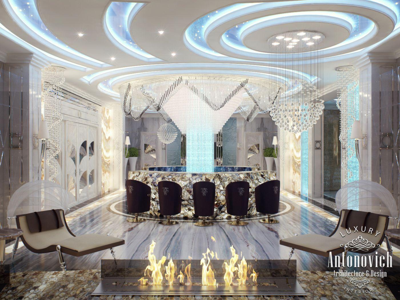 Home Spa Design Ideas: LUXURY ANTONOVICH DESIGN UAE: Spa Interior Design By
