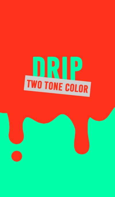 DRIP TWO TONE COLOR style 10