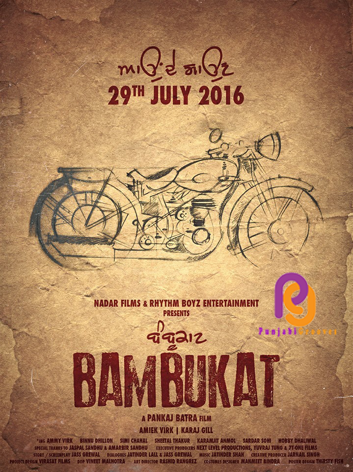 Bambukat 2016 movie Poster