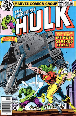 Incredible Hulk #229. Doc Samson and Moonstone