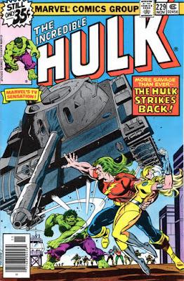 Incredible Hulk #229. Doc Samson and Moonstone