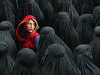 Foto Wanita-Wanita Cantik Berjubah Hitam di Aksi Super-Damai 212