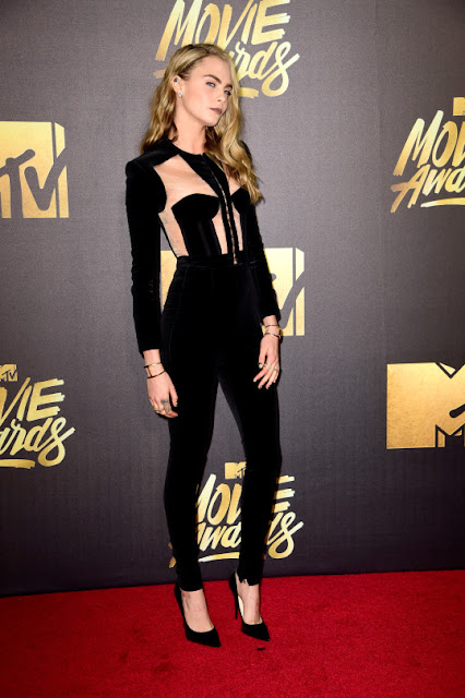Cara Delevingne - 25th Annual MTV Movie Awards