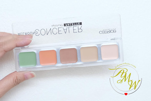 a photo of Catrice Cosmetics ALl Around Concealer Palette review by Nikki Tiu of askmewhats.com