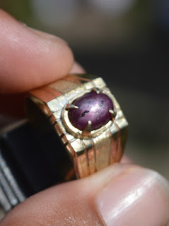 star ruby corundum