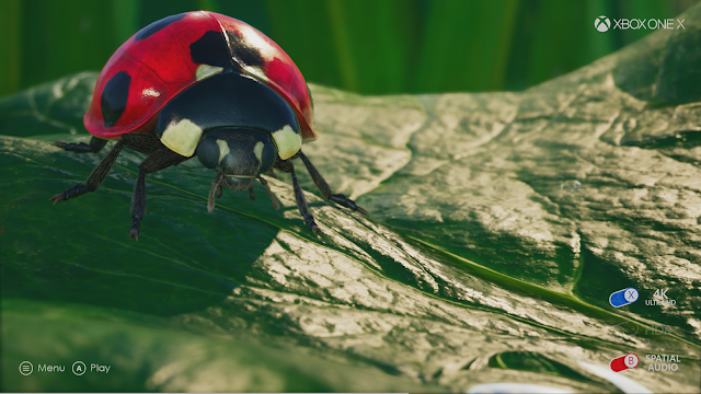 Descubre todo lo que ofrece Xbox One X con Ia app Insects
