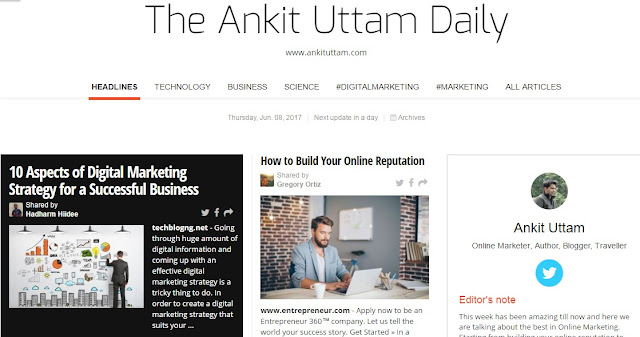 The Ankit Uttam Daily Image