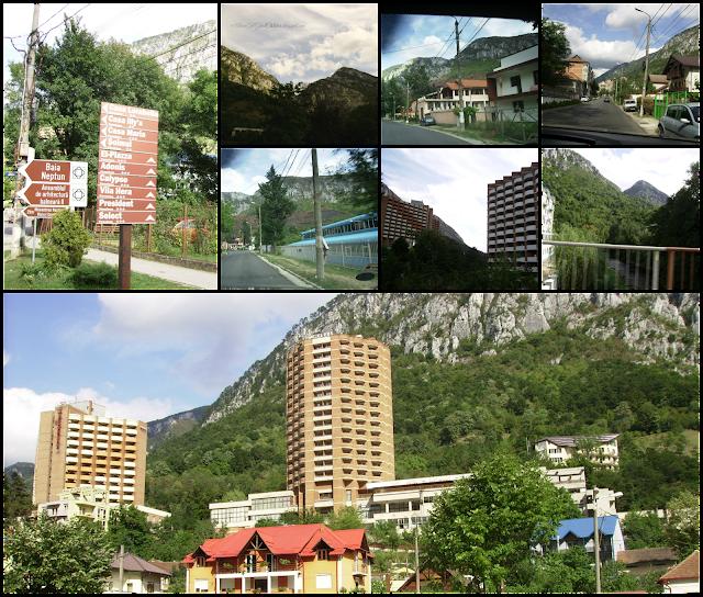 Herculane Balnear & Spa resort; Staţiunea balneară Herculane