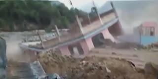 Tunisie: Spectacle ahurissant de flots d'eau de pluies emportant tout sur leur passage!