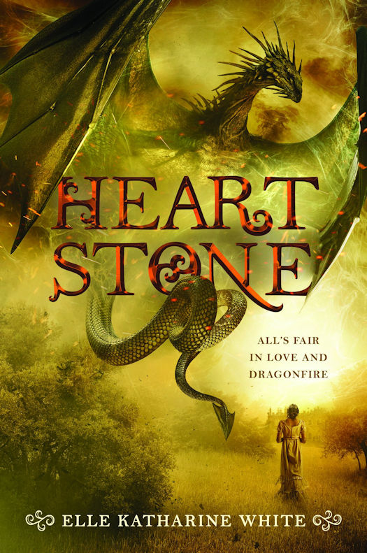 2017 Debut Author Challenge Update - Heartstone by Elle Katharine White