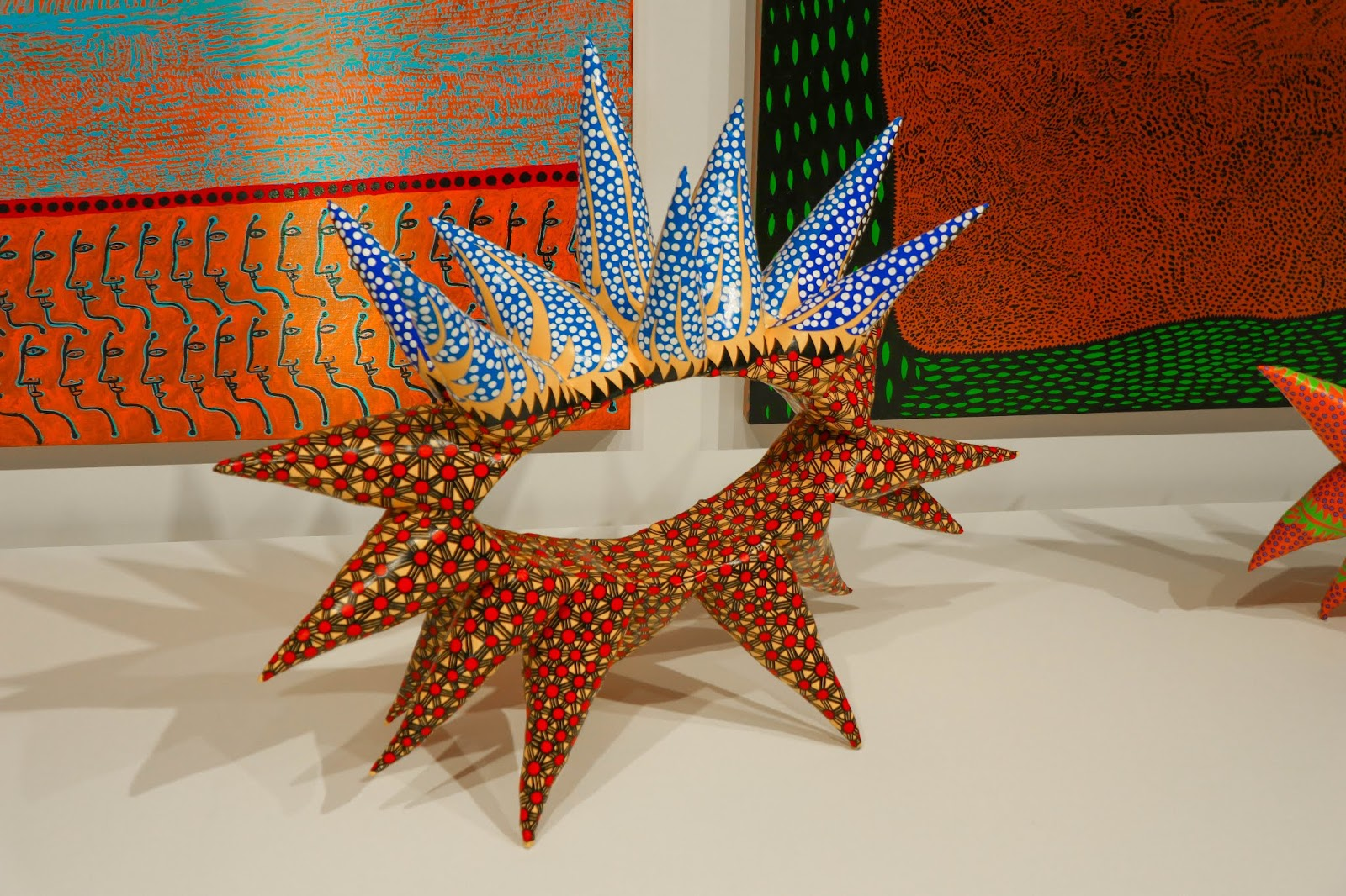 Yayoi Kusama Infinity Mirrors Photos Toronto Exhibit Paintings