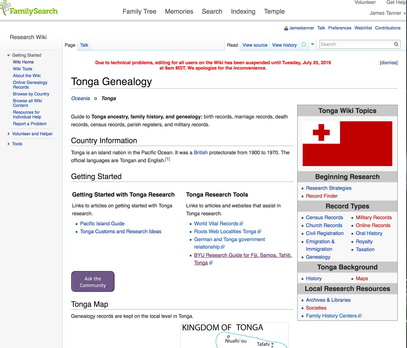 Genealogy's Star: Taking a Look at Tongan Genealogy