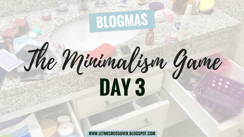 Let Me Cross Over Minimalism Game Decluttering