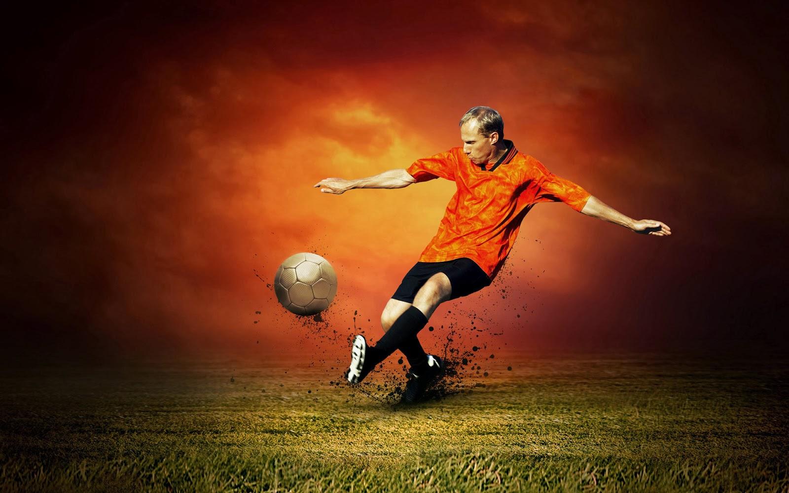 Wallpaper Soccer, Football Keren 2014