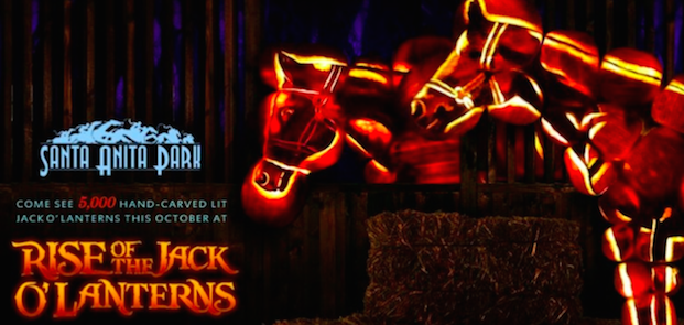 Rise of the Jack O' Lanterns Santa Anita Park Discount Tickets $16.50