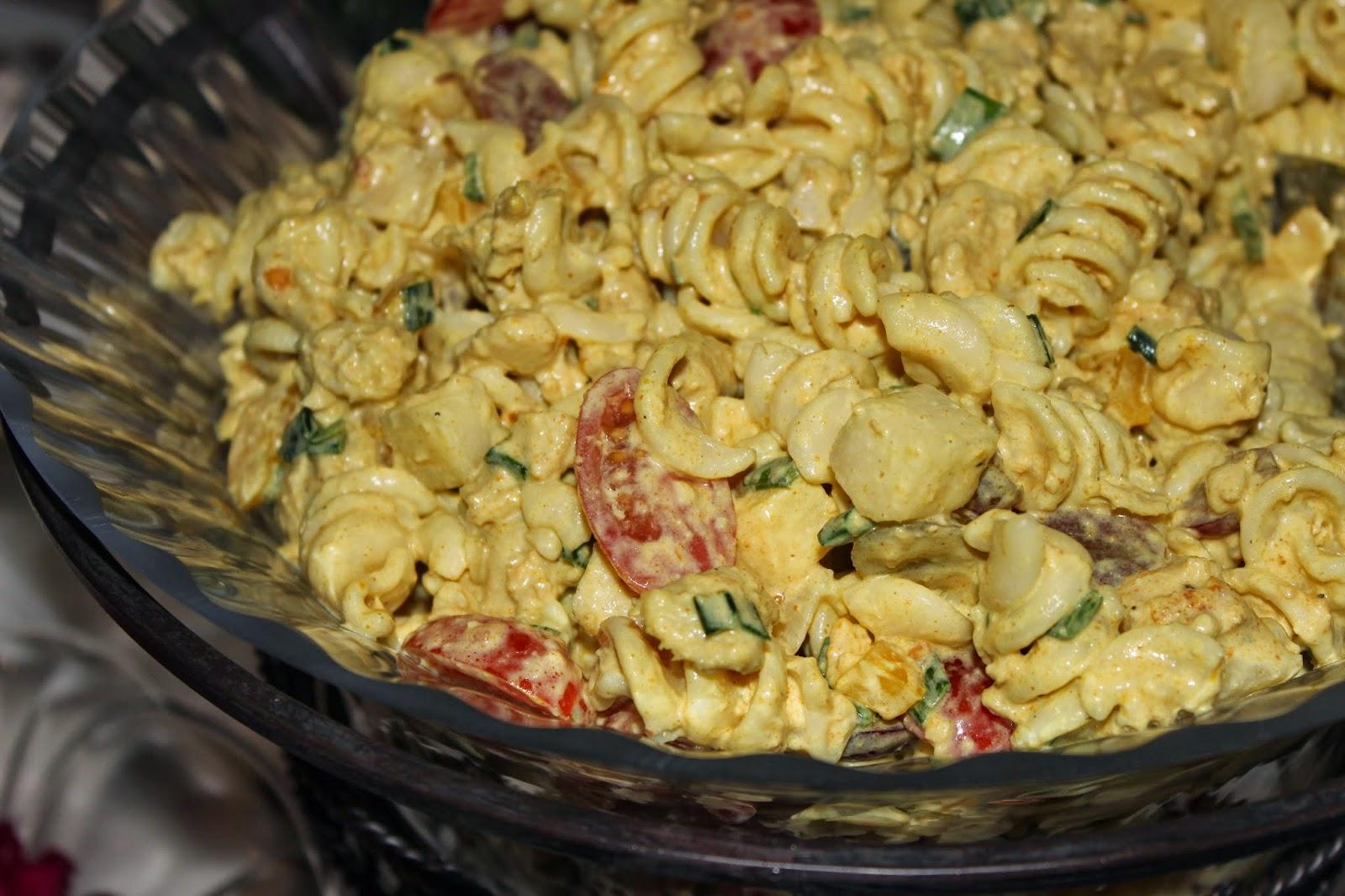 kylmä kasvis pastasalaatti