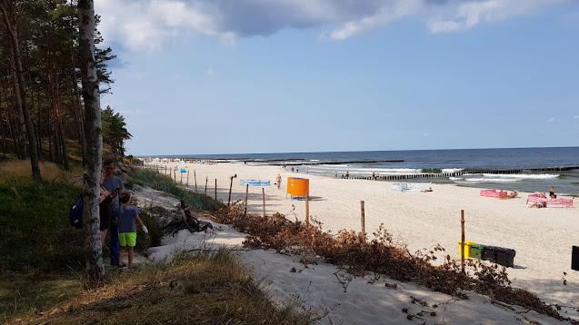 park linowy morze bałtyk