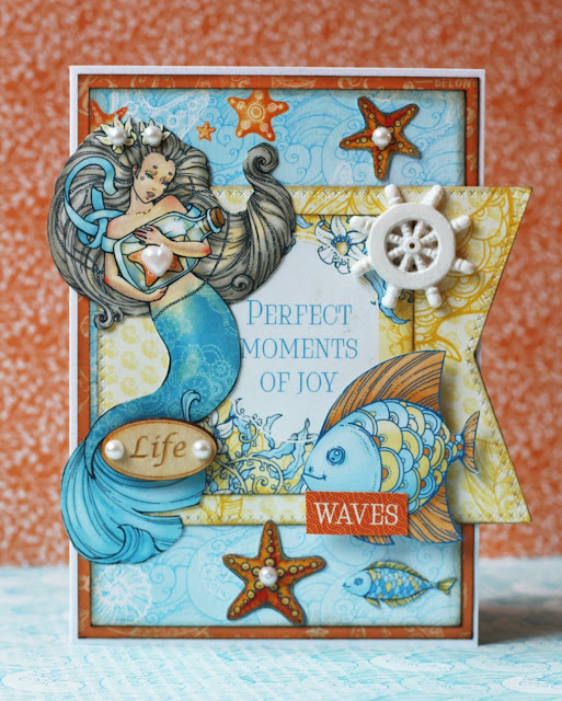 ScrapBerry's Ocean Enchantment card