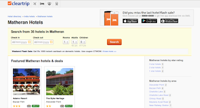 Hotels in Matheran are Easy and Profitable to Book