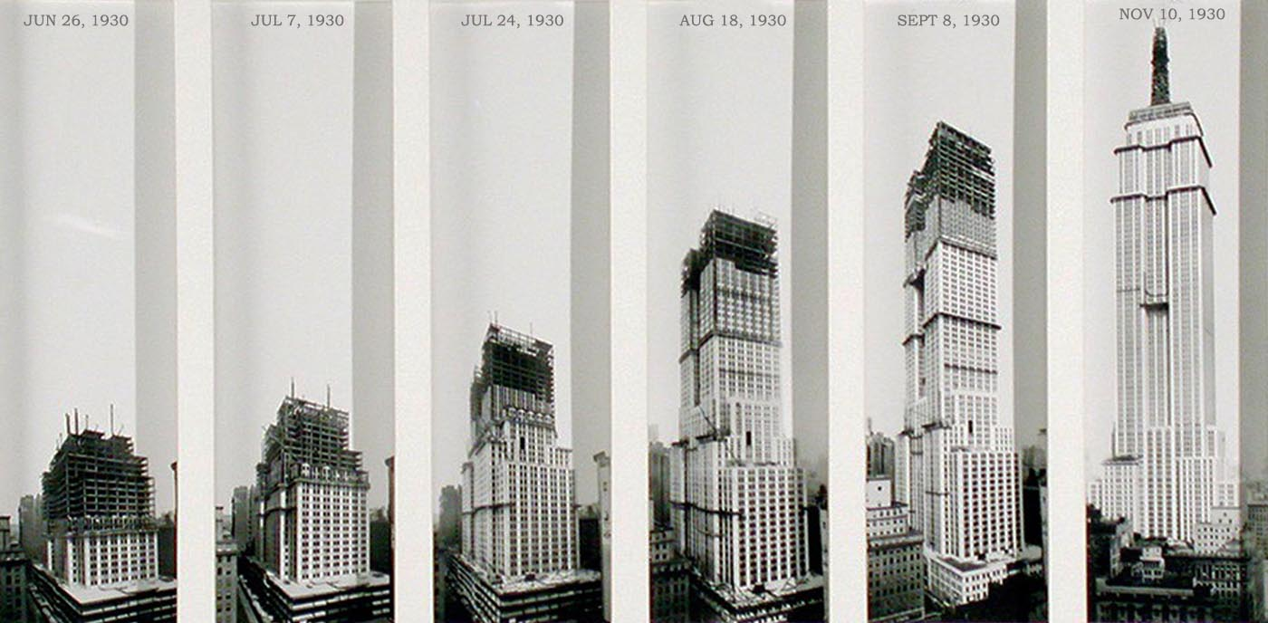 The Speed With Which They Built The Empire State Building