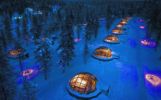 Melihat Keindahan Aurora di Finlandia