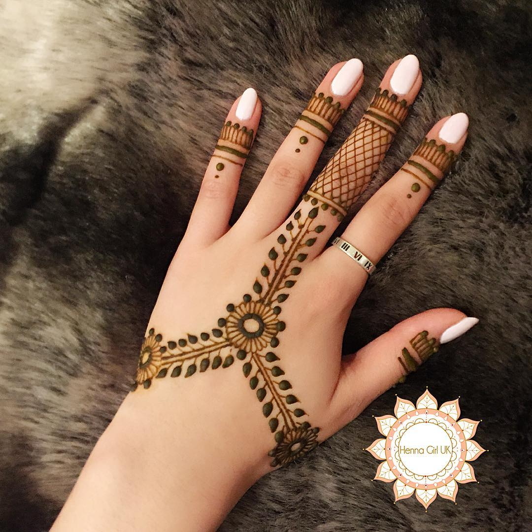 125 new simple mehndi henna designs for hands buzzpk for Simple and beautiful