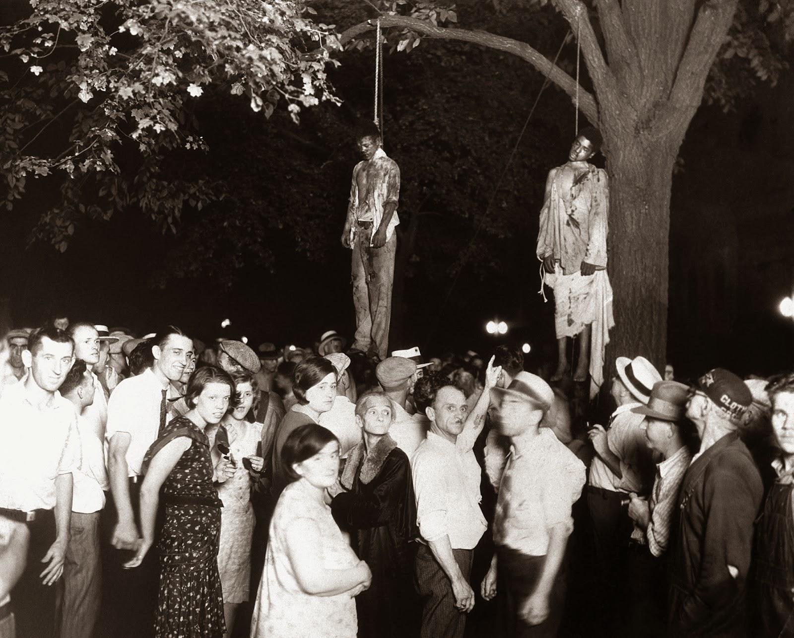 El linchamiento de Thomas Shipp y Abram Smith, 1930