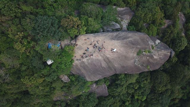 Gunung Lembu Via Drone