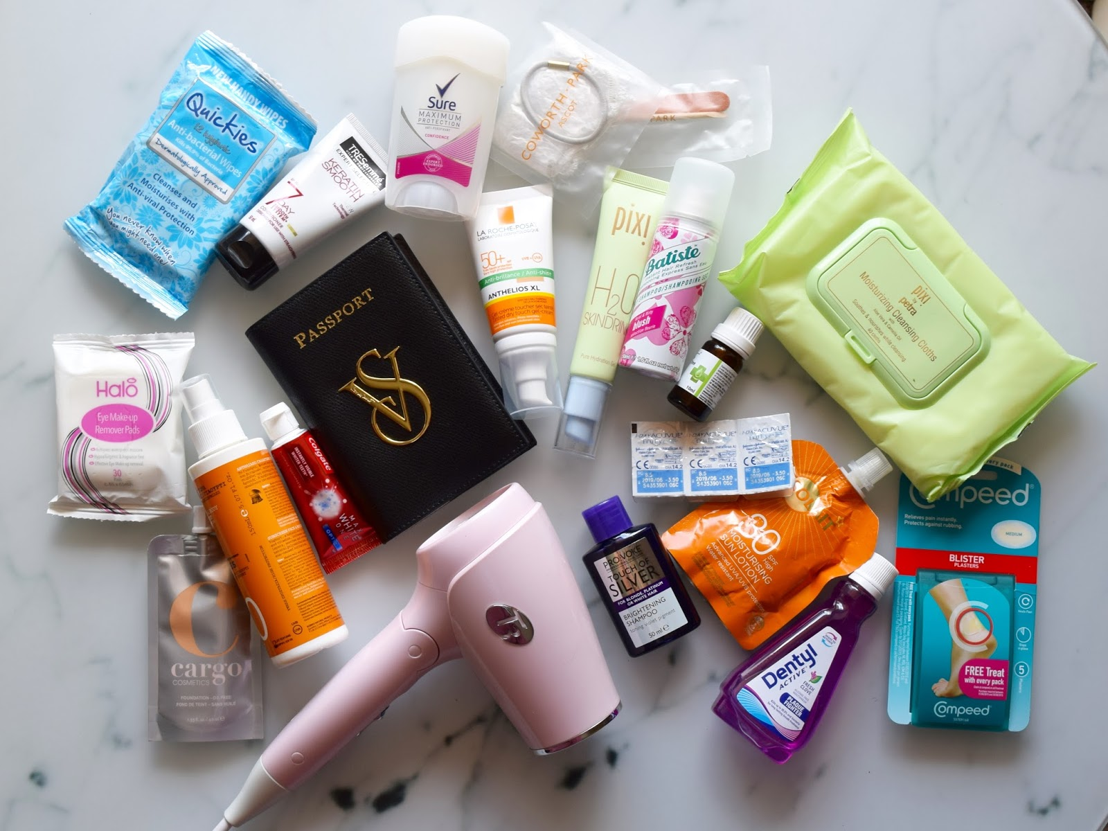 Beauty backpacking essentials