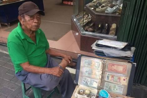 Tempat menjual uang kuno
