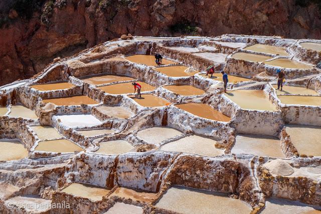 Salineras de Maras in Peru