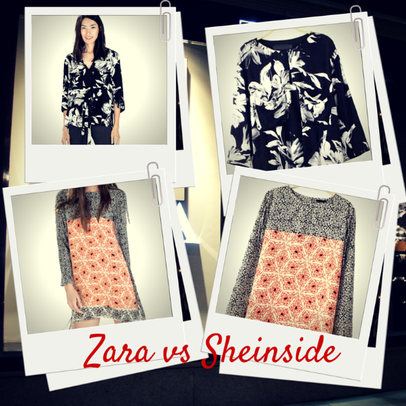 Zara clones low cost Sheinside