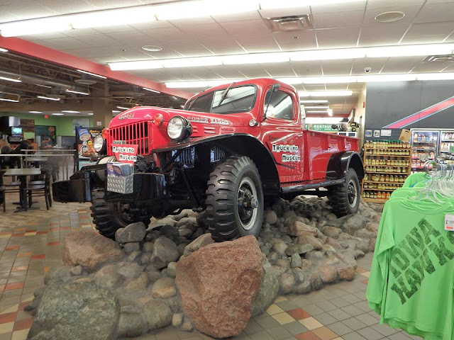 truck stop, i-80, worlds largest, road trip, adventure, power wagon