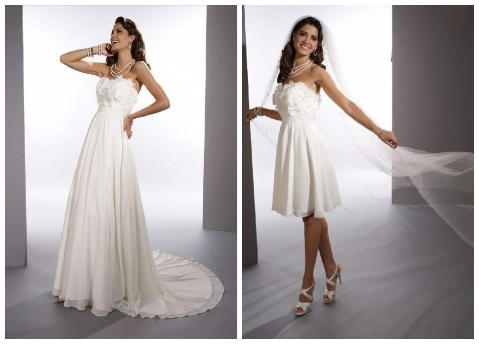 2 In 1 Wedding Dresses