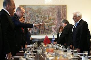 H «μυστήρια» επίσκεψη Ερντογάν, η Εθνική στρατηγική και η «Α έως Ω» Τουρκική απειλή