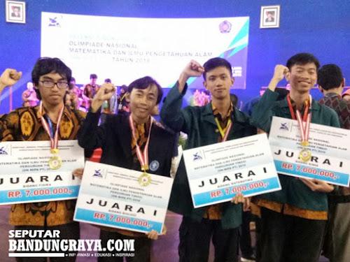 Juara Olimpiade Nasional MIPA 2018