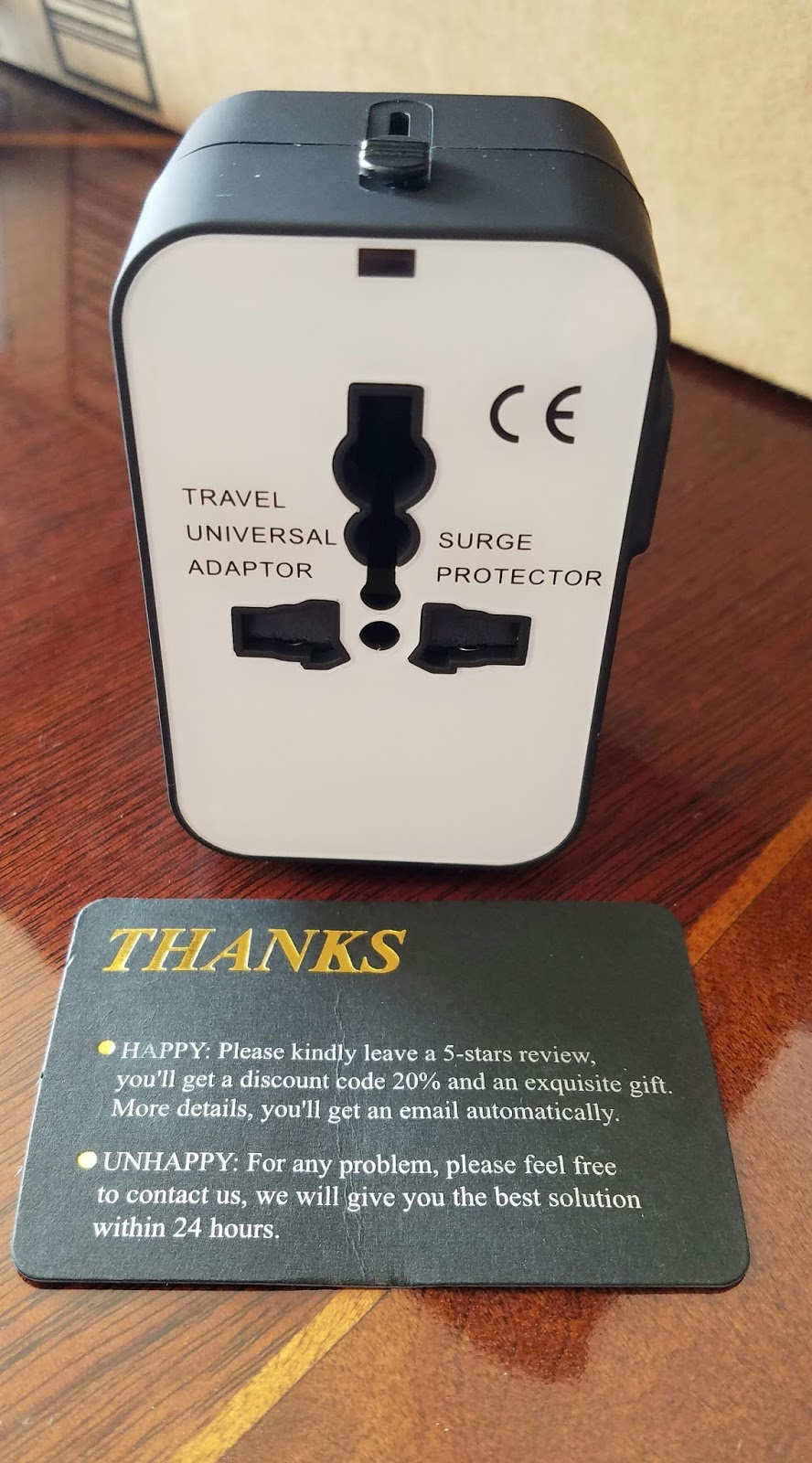 Traveladapter Universal All In One Wide Travel Adapter