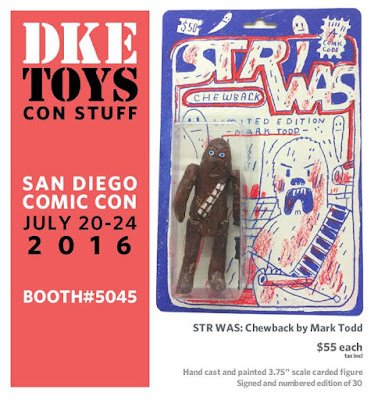 San Diego Comic-Con 2016 Exclusive STR WAS: Chewback Star Wars Resin Figure by Mark Todd x DKE Toys