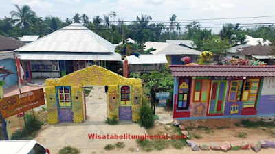 Museum Kata Andrea Hirata Belitung Timur.