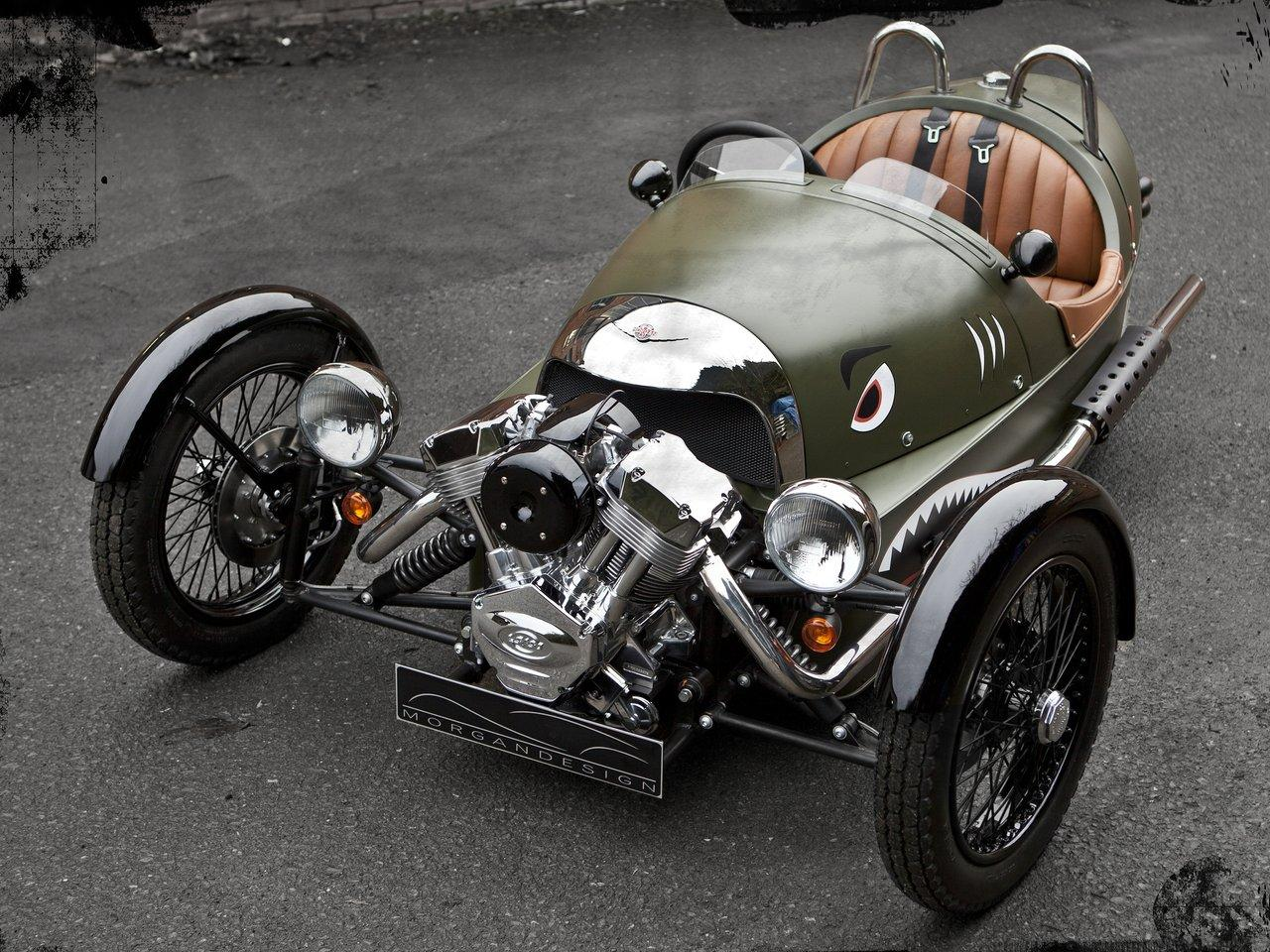 At the heart of the Three Wheeler is its V-twin engine from S&S of  Wisconsin, USA. Known as the X-Wedge and introduced in 2007, this 1,982cc,  dry-sump unit ...