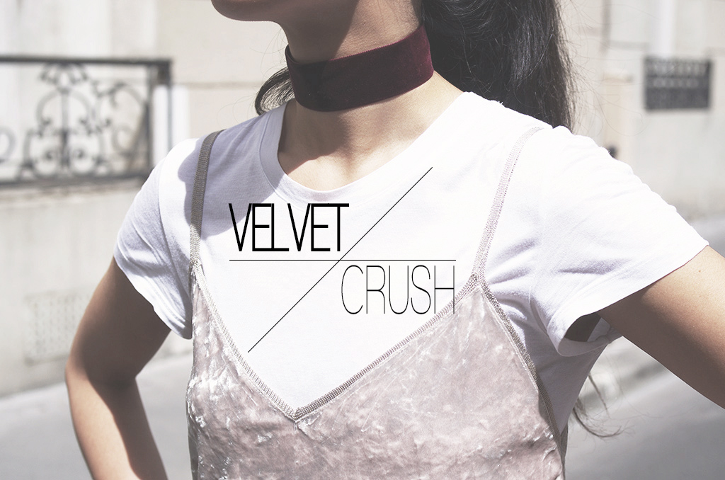 Elizabeth l Velvet fall fashion trend tendance velours l THEDEETSONE l http://thedeetsone.blogspot.fr