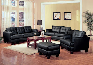 Black Leather Furnitures