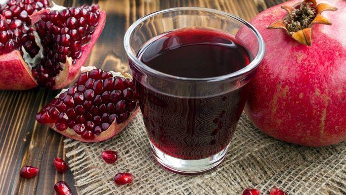 Jus buah delima merah asli