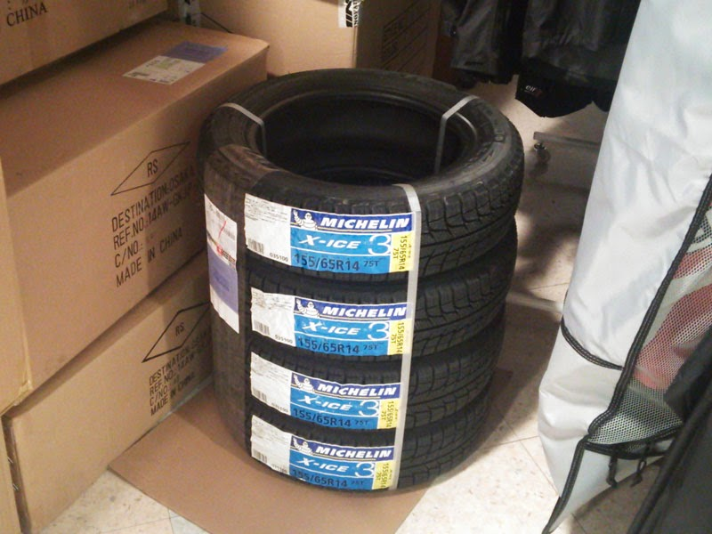 MICHELIN X-ICE XI3 155/65R14