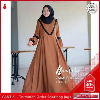 Jual RRJ265D105 Dress Zaraly Dress Wanita Mc Terbaru Trendy BMGShop