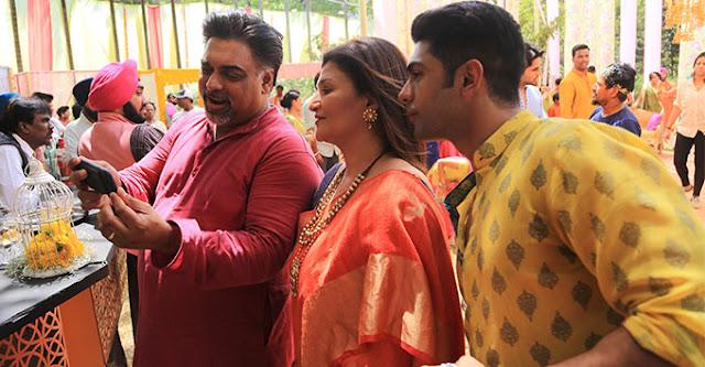 Behind The Scenes Photos Of Film Baar Baar Dekho