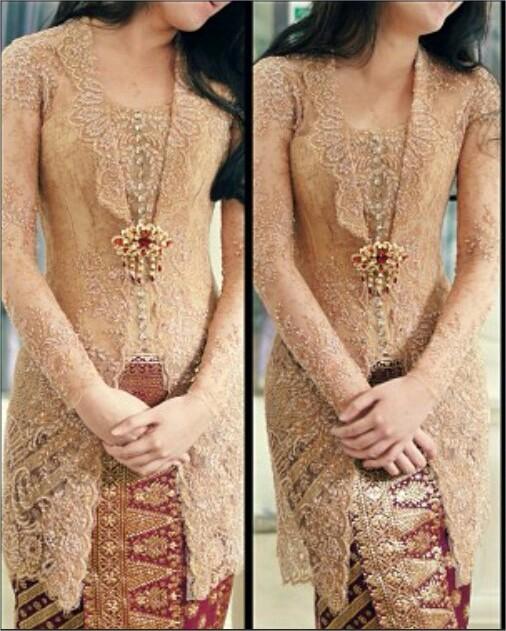 kebaya batik pengantin muslim batik gaun pengantin makna dan filosofi